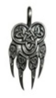 Печать Велеса РУ-П1.078   14х25мм (оберег, посеребрение)