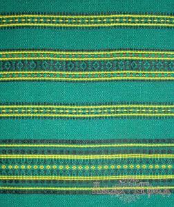 Ткань узорная ЗАРЯНИЦА зелёная_1