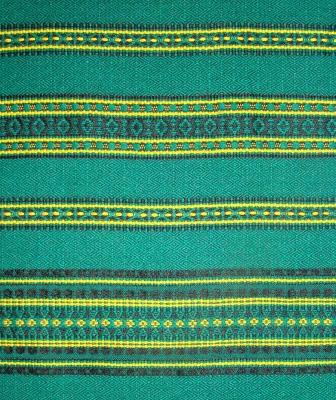 Ткань узорная ЗАРЯНИЦА зелёная