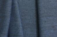 Лён костюмный синий меланж (1/386) ш150/пл190_0