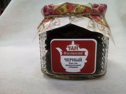 """Псковский иван-чай отборный """"Черный"""", стеклобанка 25 гр"""