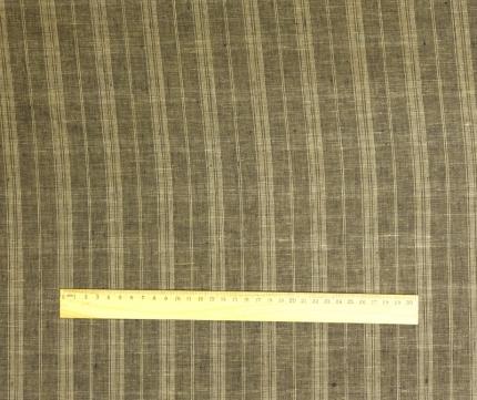 Лён костюмный в полоску (3/1075) ш150/пл170