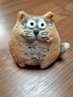 Кот-толстопуз шамот