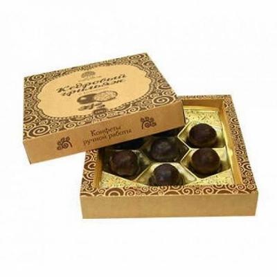 Кедровый грильяж с черникой в шоколадной глазури, 120 гр