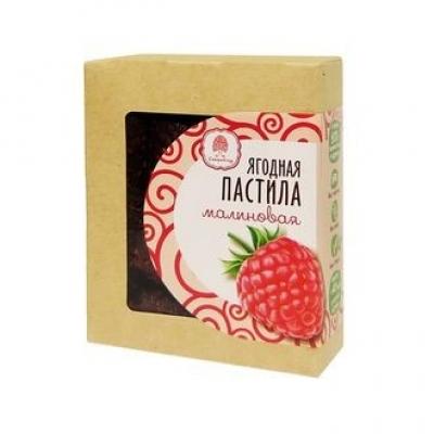 Пастила ягодная малиновая, 100 гр