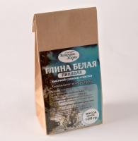 Глина белая, пищевая (Каолин) 100 гр, крафт-пакет