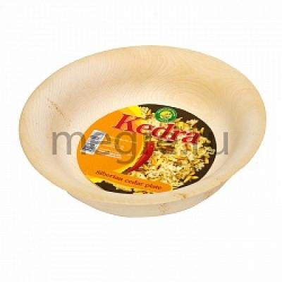 Тарелка из сибирского кедра