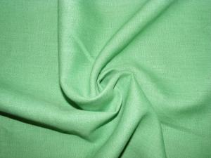 Лён костюмный Сочная зелень (0/1052) ш150/пл190_0