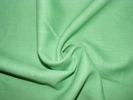 Лён костюмный Сочная зелень (0/1052) ш150/пл190