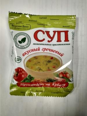 Суп гречневый