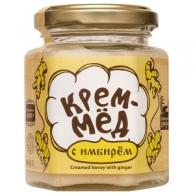 Крем-мёд с имбирём, 220 гр