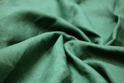 Лён тёмно-зелёный (0/534), ш260/пл150