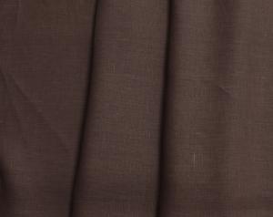 Лён костюмный тёмно-коричневый (0/551), ш145/пл170_0