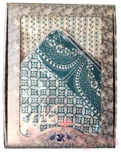 Комплект Постельного Белья 2 сп, Пэчворк бирюза лён (нав. 50*70)_1