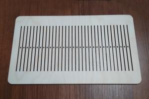 Бердо для ткачества (узкие отв.), без рисунка, 80 нитей