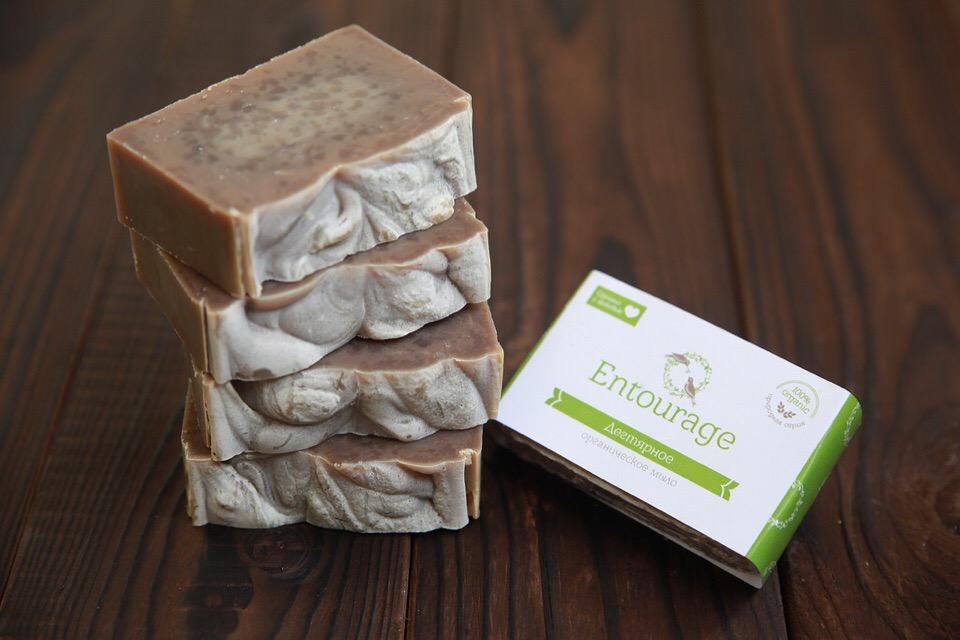 Природное мыло Дегтярное
