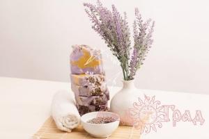 Природное мыло Лаванда_1