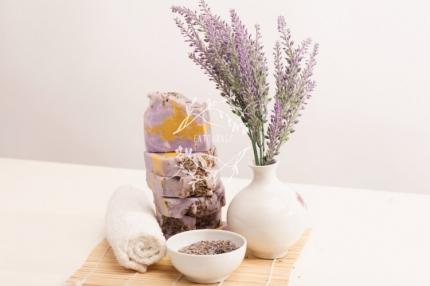 Природное мыло Лаванда