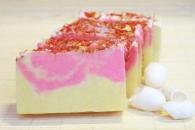 Природное мыло Иланг-иланг (с шелком)_0