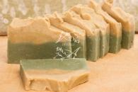Природное мыло Желтая и зеленая глина