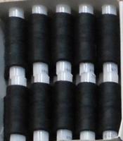 Нитки 45ЛЛ 200м чёрные