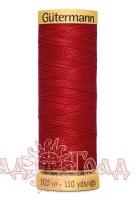 Нитки Гутерманн, х/б 100%, 100 м (2074) красные