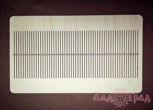 Бердо для ткачества (узкие отв.), без рисунка, 115 нитей_1