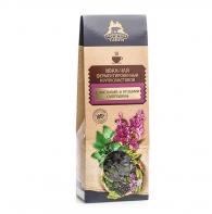 Иван-чай ферментированный крупнолистовой с листьями и ягодами смородины, Территория тайги, 40 гр