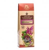 Иван-чай ферментированный крупнолистовой с листьями и ягодами брусники, Территория тайги, 40 гр