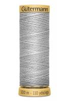 Нитки Гутерманн, х/б 100%, 100 м (618) серые