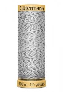 Нитки Гутерманн, х/б 100%, 100 м (618) серые_0