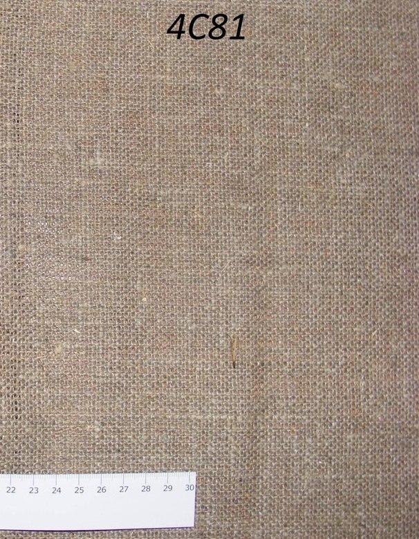 Лён мешковина небелёный (0/330) ш110/пл430