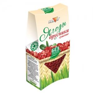 Ягоды БРУСНИКИ сушёные (дроблёные), 50 гр
