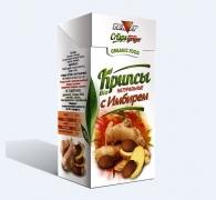 Крипсы яблочные с ИМБИРЕМ, 30 гр