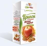 Крипсы яблочные с КОРИЦЕЙ, 30 гр