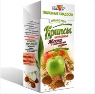 Крипсы яблочные с ОТРУБЯМИ, 30 гр