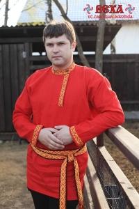 Рубаха мужская косоворотка