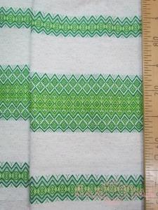 Ткань узорная Забава зелёная_1