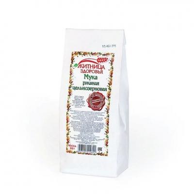 Мука ржаная цельнозерновая, 0.9 кг