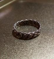 Кольцо плетёное