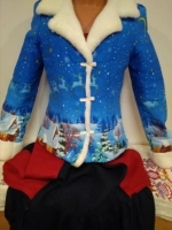 Куртка -Жакет женский зимний