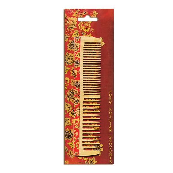 Расческа Сувенирная деревянная