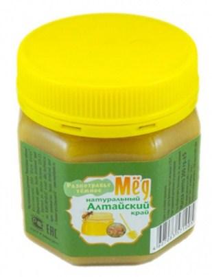 Мёд алтайский «Разнотравье тёмное», 300 гр, ПЭТ