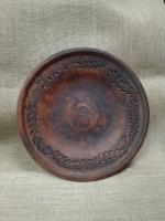 Тарелка керамическая круглая
